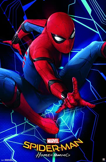 Amazon Trends International Spider Man Homecoming Spidey Wall Poster 22375 X 34 Home Kitchen