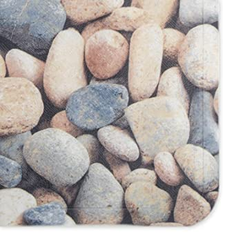 Casa Pura Non Slip Bath Mat Pebbles 69 X 40 Cm 3 Pvc