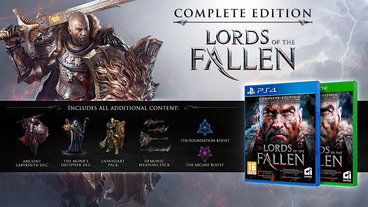 Lords of the fallen review gamespot.