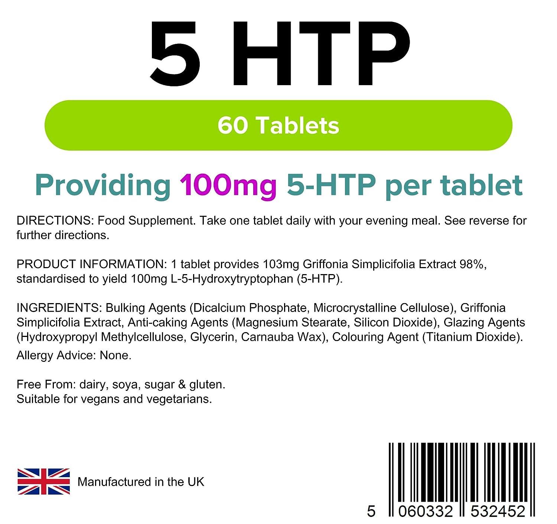 Lindens - 5 HTP - 100 mg - 60 tabs