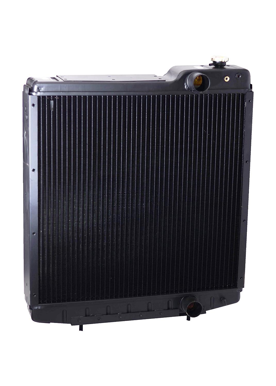7120 7140 7130 Aluminum Armor A189087 Radiator Fits CASE IH 7110
