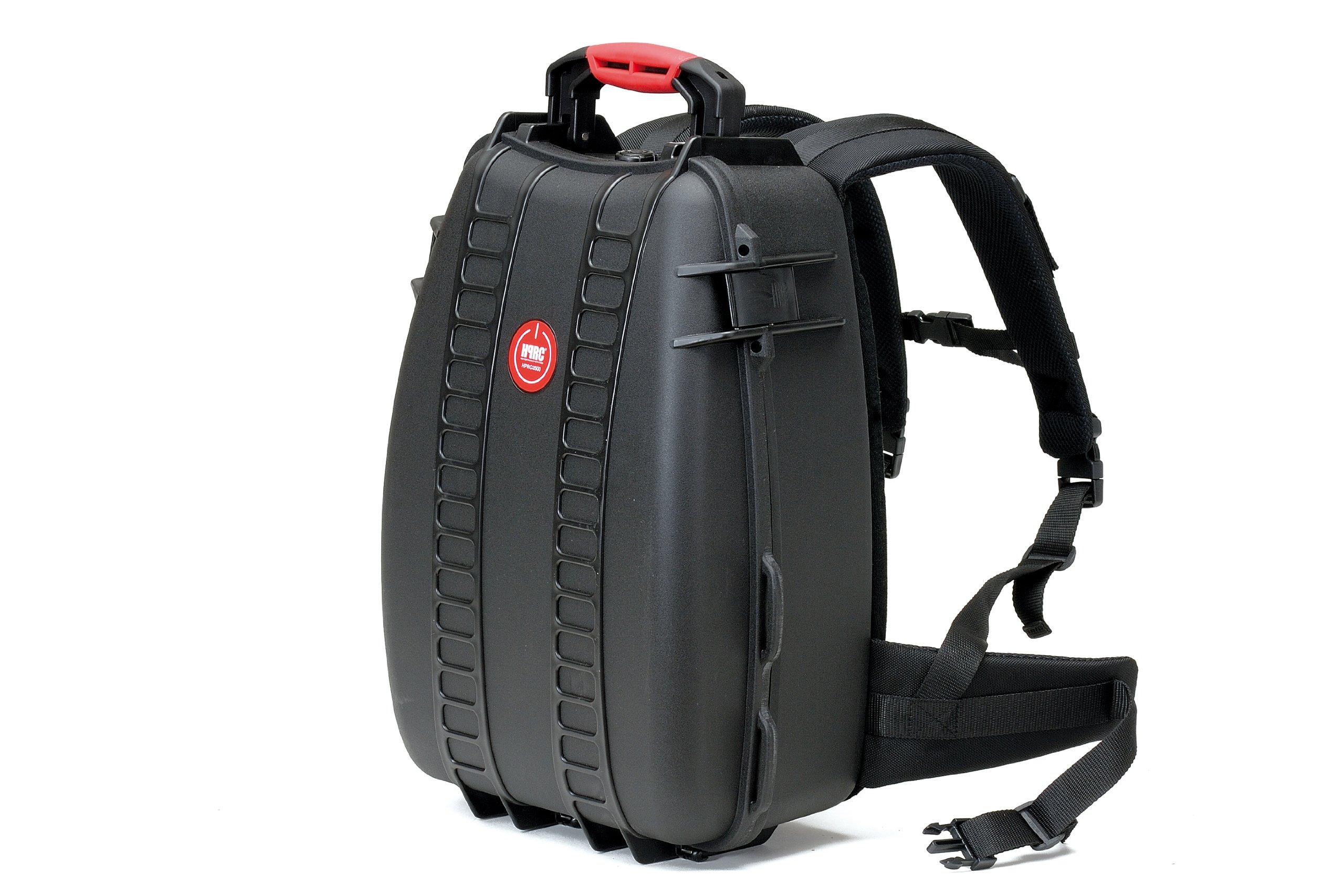 HPRC 3500DK Backpack Hard Case with Divider Kit (Black) by HPRC