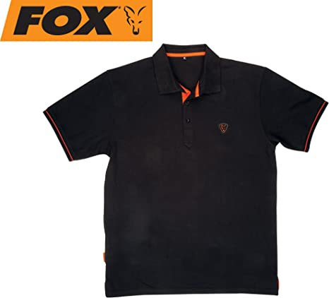 Fox Polo Black/Orange: Amazon.es: Deportes y aire libre