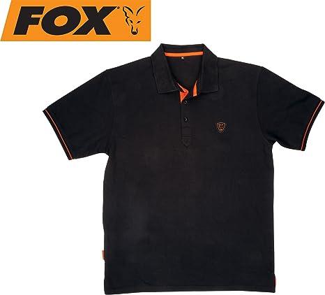 Fox Polo Black/Orange: Amazon.es: Deportes y aire libre