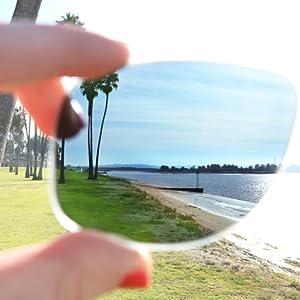 Polarized Sunglasses Lens Test
