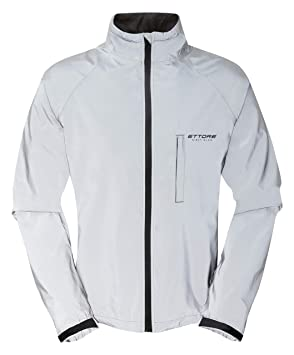Ettore Mens Cycling Jacket Waterproof Breathable High Visibility