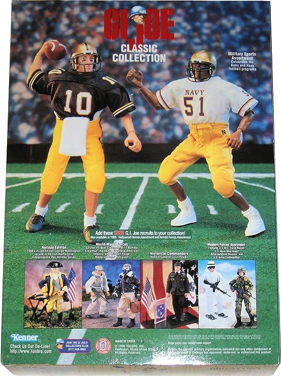 Vintage GI JOE ARMY FOOTBALL QUARTERBACK 1998 Hasbro Collectible NIB Action Fig
