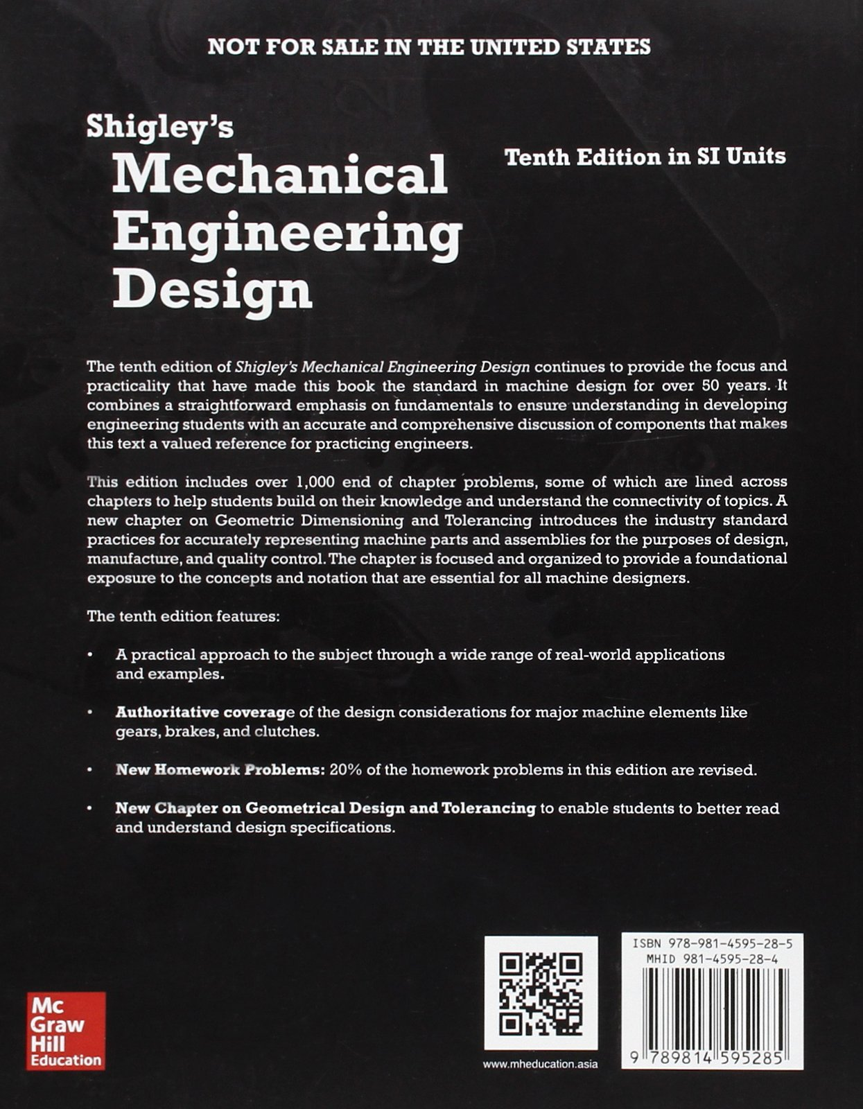 Buy Shigley S Mechanical Engineering Design In Si Units Book Online At Low Prices In India Shigley S Mechanical Engineering Design In Si Units Reviews Ratings Amazon In