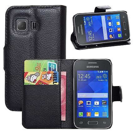 dc5aeeaa423 Ycloud Funda Libro para Samsung Galaxy Young 2 (G130H, 3.5 Pulgada), Suave