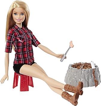Amazon.es: Barbie Hoguera Destellos, Rubia (Mattel FDB44 ...
