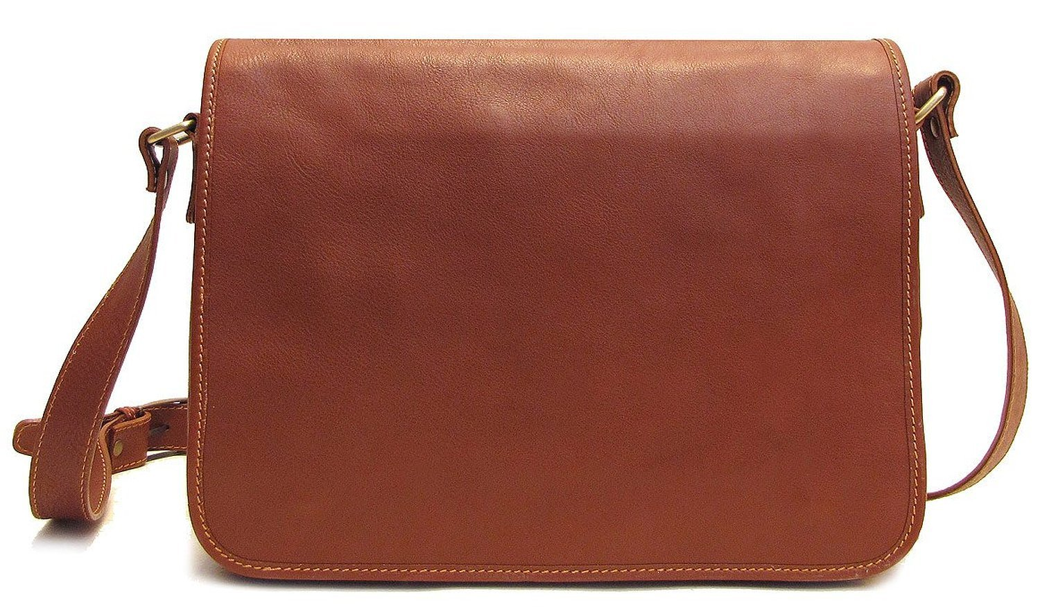 Floto Toscana Italian Leather Messenger Bag