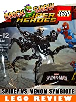 LEGO Super Heroes Spider-Man Vs The Venom Symbiote Review LEGO (30448)