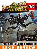 LEGO Super Heroes Spider-Man Vs The Venom Symbiote Review LEGO (30448) [OV]