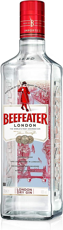 Beefeater London Dry Ginebra, 70cl: Amazon.es: Alimentación y ...