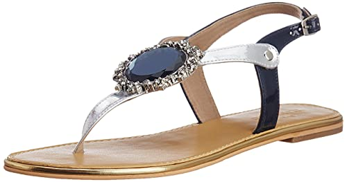 The Trunklabel Women's The Garima Flat Fashion Sandals