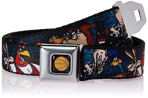 793b549f Amazon.com: Buckle-Down Men's Seatbelt Belt Kids, Looney Tunes ...