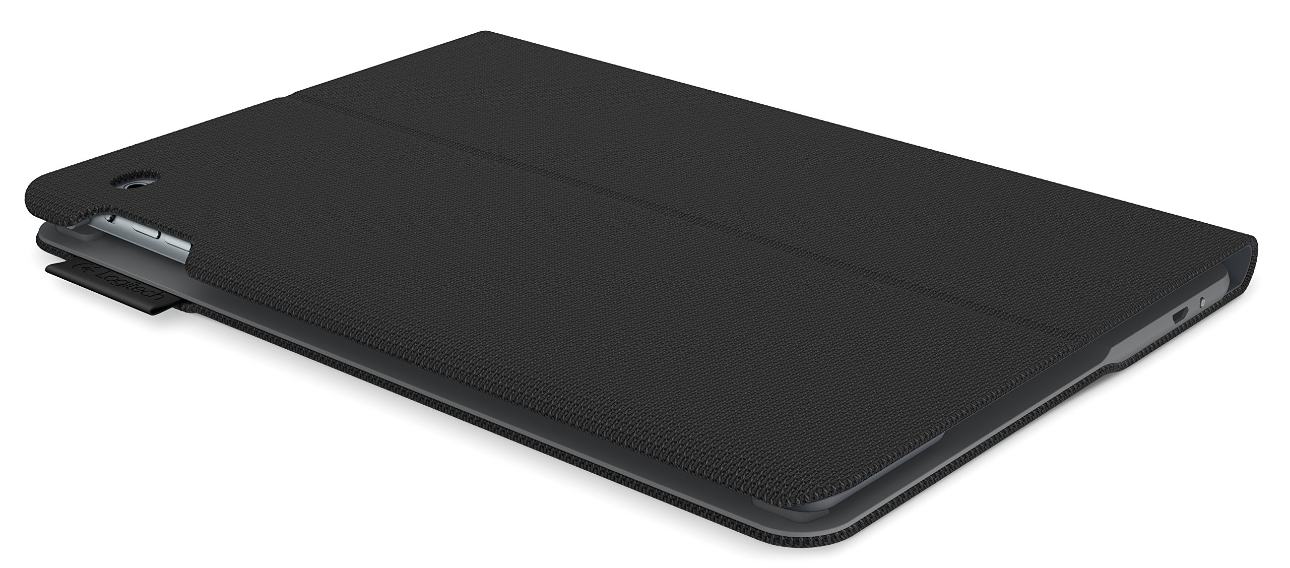 Logitech 920-006576 Protective Case with Integrated Keyboard for iPad Air 2 (Woven Black) by Logitech (Image #5)