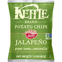 24-Pack Kettle Brand 1.5-Ounce Potato Chips (Jalapeno)