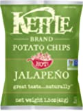 Kettle Brand Potato Chips, Jalapeño, 1.5 Ounce (Pack of 24)