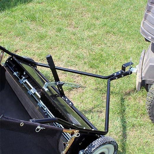 Barredora de césped Barredora de césped 120cm para segadora con operador abordo Tractor de césped: Amazon.es: Bricolaje y herramientas