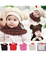 Hot Sale! Trendy Winter Baby Beanie Hat Cap Warm Cute Kids Boys Girls Toddler Knitted