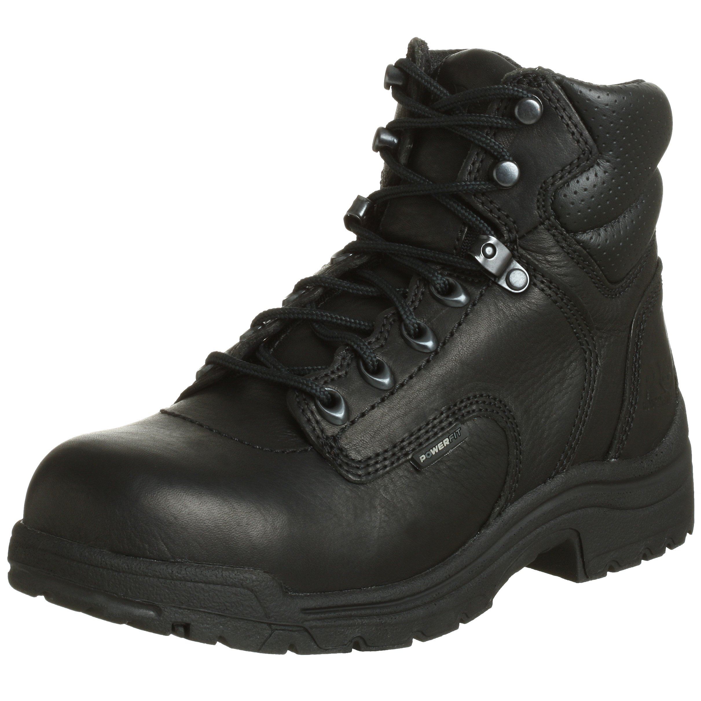 Timberland PRO Women's 72399 Titan 6'' Safety-Toe Boot,Black,8.5 M