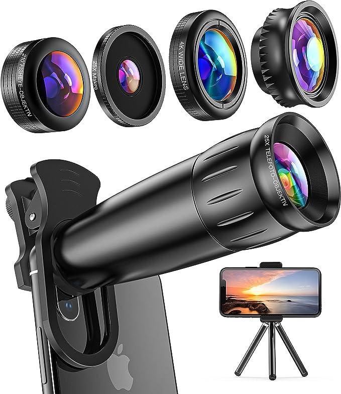 Pennytupu Langlebige universelle 3-in-1-Handy-Objektive Fish Eye ...