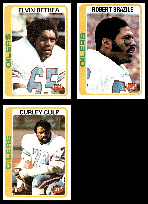 1978 Topps Houston Oilers Team Set Houston Oilers (Baseball Set) Dean's Cards 7 - NM Oilers 81iXqRga0NL