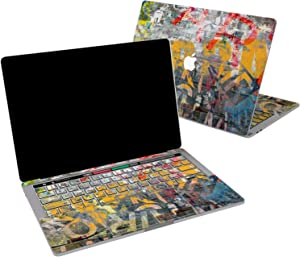 Lex Altern Vinyl Skin for MacBook Air 13 inch Mac Pro 16 15 Retina 12 11 2020 2019 2018 2017 Graffiti Cool Street Art Grunge Teenager Colorful Laptop Cover Decal Sticker Touch Bar Protective Girl