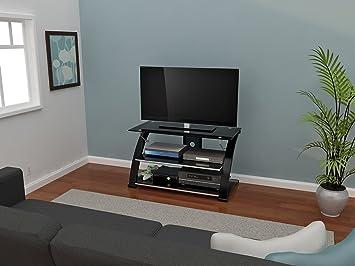 Z Line Vitoria 40 Inch Wide Tv Stand Amazoncouk Kitchen Home