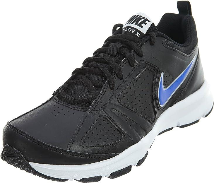Absorber mayor Disparo  Amazon.com | Nike T-lite XI SL White Blue Athletic Training Shoes Mens |  Fashion Sneakers