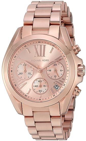 6601d6e06052 Michael Kors Reloj analogico para Mujer de Cuarzo con Correa en Acero  Inoxidable MK5799  Michael Kors  Amazon.es  Relojes