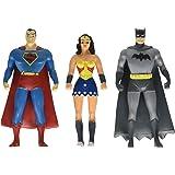 Batman, Superman, Wonder Woman Mini 3er Pack