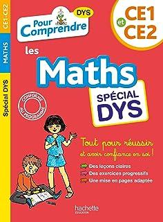 Pour Comprendre Maths CE1-CE2 - Spécial DYS (Les cahiers de la collection