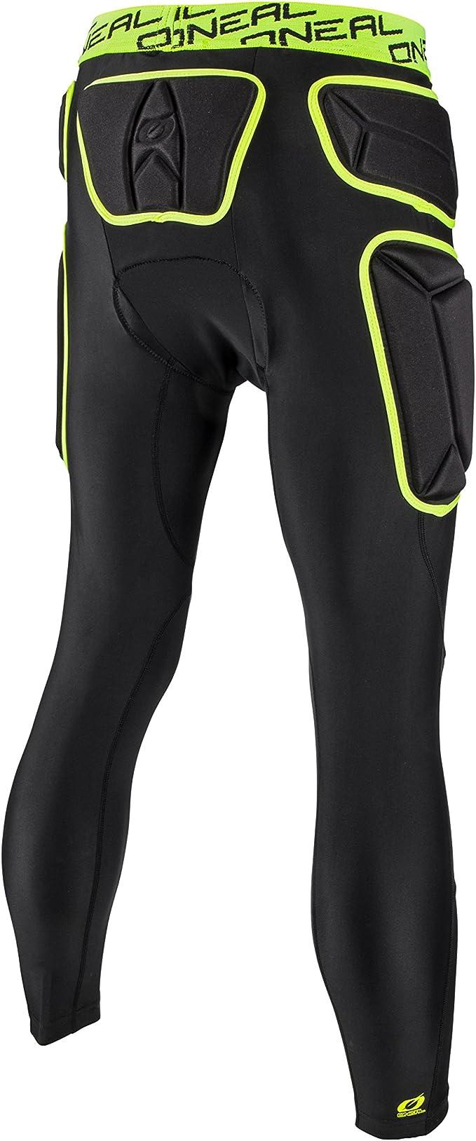 Xl , Vert Pantalon De Protection Mx Oneal 2018 Trail Lime-Noir