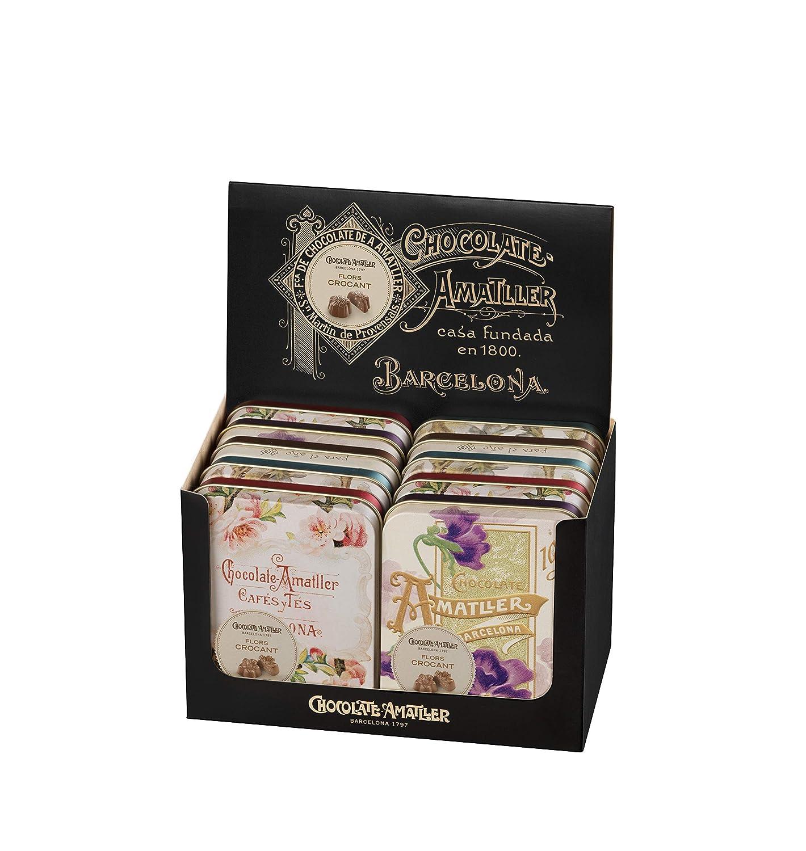 Chocolate Amatller Flors Crocant Bombones de Chocolate - 60 Unidades: Amazon.es: Alimentación y bebidas