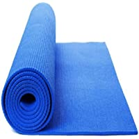 Yoga and Exercise mat of 3mm Black 3 mm Yoga Mat 100% Eco Friendly