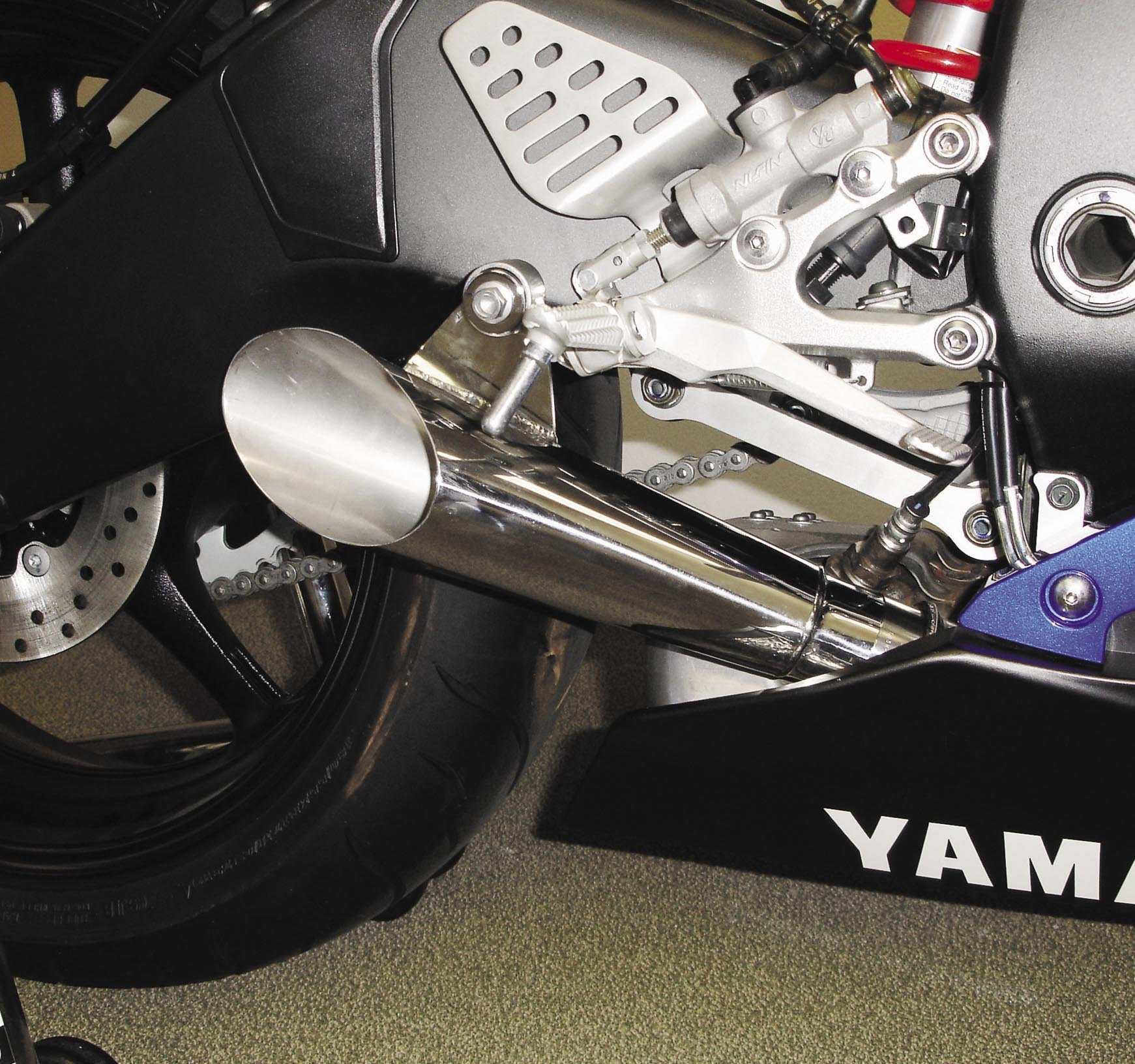 Hotbodies Racing Y06R6-XSO Exhaust,1 Pack