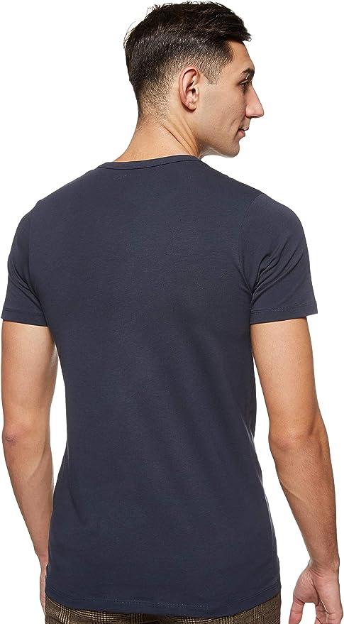 JACK /& JONES Basic O-Neck tee L//S Noos Camiseta para Hombre