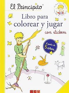 El Principito Libro De Colorear Amazones Vvaa Libros