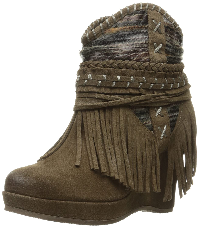 Naughty Monkey Women's Canyon Dream Ankle Bootie B01H2BPXBU 8 B(M) US|Taupe