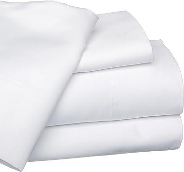 CLICKTOSTYLE - Sábanas bajeras de 100 % algodón Egipcio, Color ...