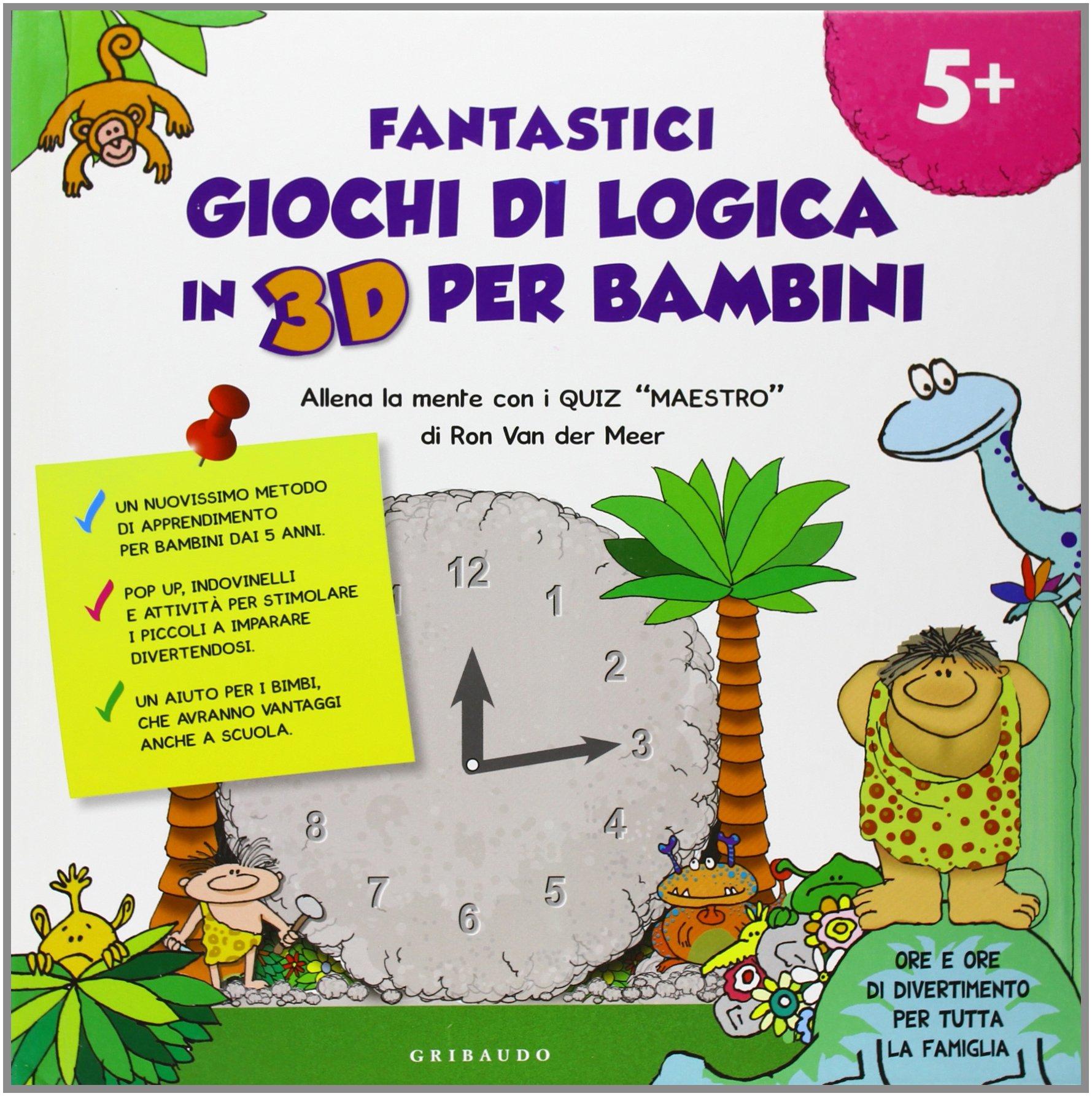 Amazonit Fantastici Giochi Di Logica In 3d Per Bambini Quiz