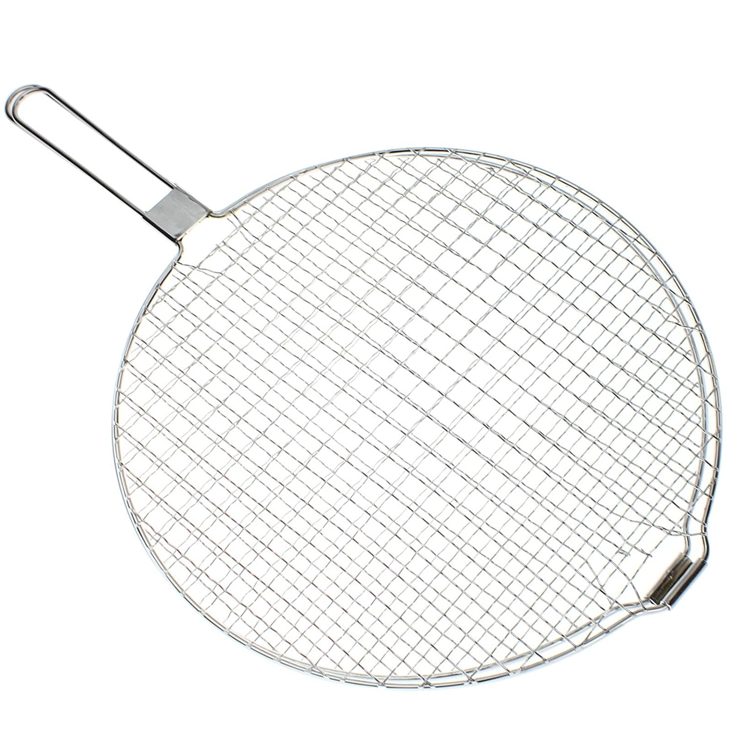 SPARES2GO Foldable Grilling & Toasting Rack for Stoves Oven Cooker Hob