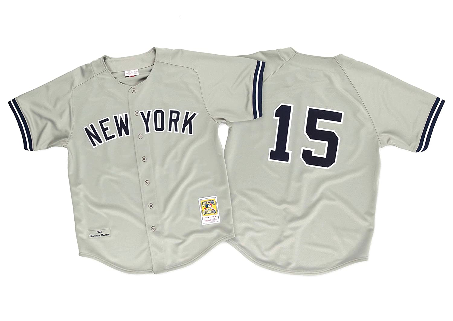 reputable site 6a1ba 794f5 Amazon.com: Thurman Munson 1978 New York Yankees Authentic ...