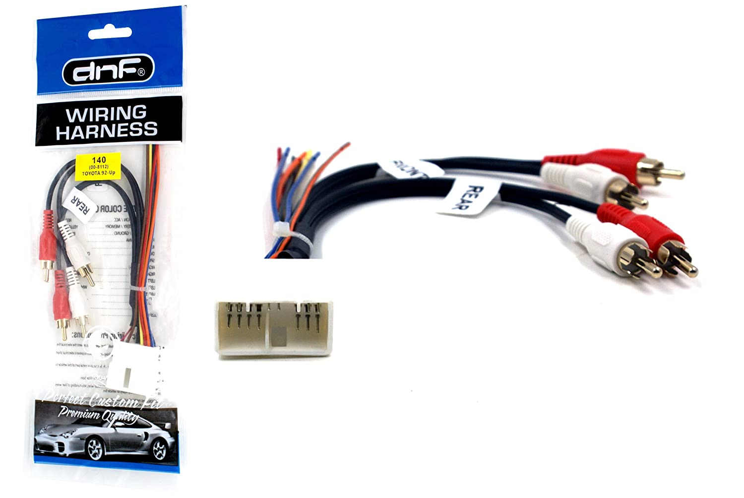 Dnf Premium Sound System Amp Integration Wiring Harness Toyota Supera For Aftermarket Stereos 70 8112 100 Copper Wires Automotive