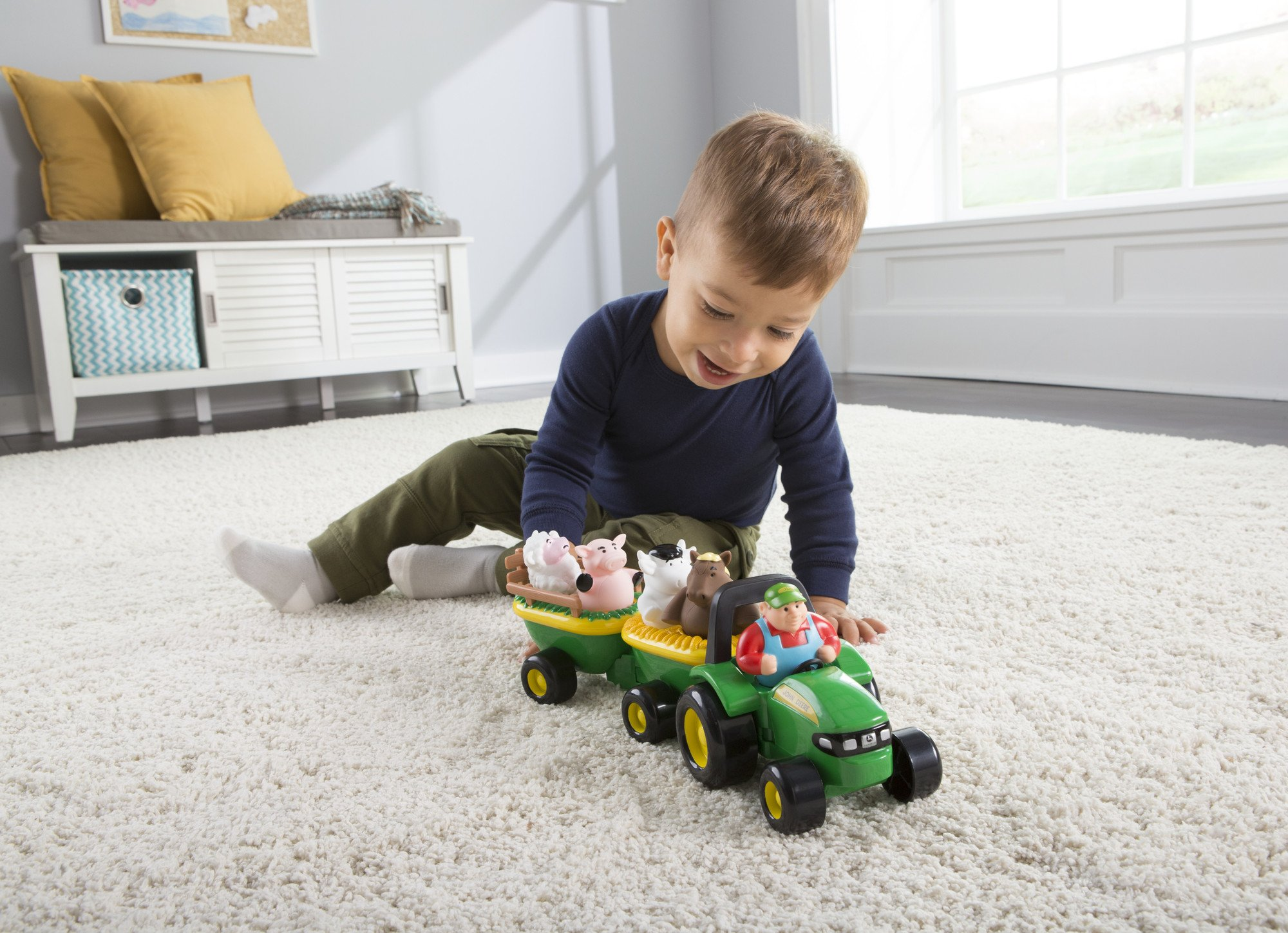 TOMY John Deere Animal Sounds Hayride by TOMY (Image #7)