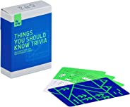 W+W Waterproof Things You Should Know Question Trivia Quiz Outdoor Camping Game