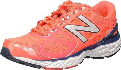 New Balance Zapatillas para correr New Balance W680V3 para mujer, Dragonfly / Flame, 5 D US: Amazon.es: Zapatos y complementos