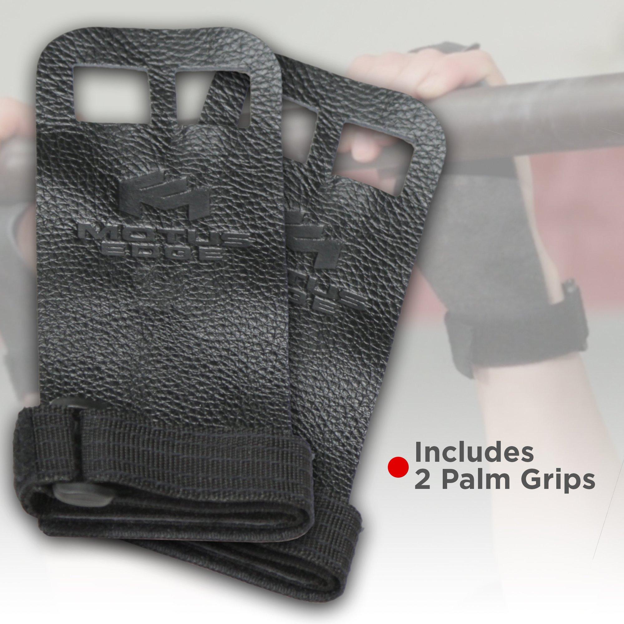 Motus Edge CrossFit Starter Kit - Palm Grips, Wrist Wraps, Speed Jump Rope - Handy Carry Bag by Motus Edge (Image #2)